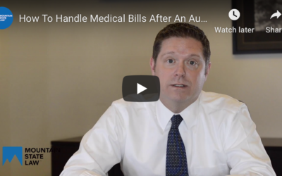 How to Handle Medical Bills After an Automobile Accident